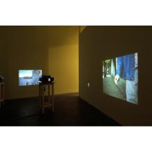 Installation view: No One Makes me Feel the Colours that you do, Temple Bar Gallery, Dublin 2004